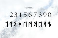 Ad: Norse Elder Futhark Typeface by Dene Studios on Elder Futhark typeface is a unique font based on the oldest form of the runic alphabets. It was a writing system used by Germanic tribes. Norse Alphabet, Alphabet Symbols, Rune Symbols, Viking Symbols, Ancient Symbols, Mayan Symbols, Egyptian Symbols, Norse Runes Meanings, Tattoo Symbols