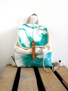 Little tie backpack