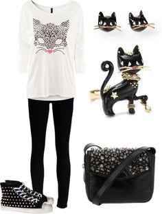 """cat fashion"" by fatima-ikanovic on Polyvore"