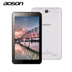 AOSON S7 7 inch 3G Unlocked Smart phone Tablet PC Android 6.0 MTK8321 8GB Quad Core IPS 1024*600 1G+8G GPS Bluetooth SIM CARD #Affiliate