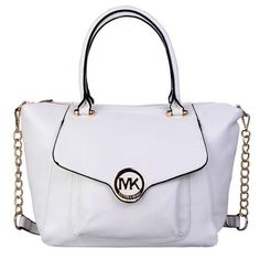 Welcome To Our Michael Kors Fulton Leather Large White Satchels Online Store