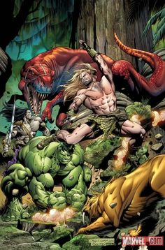 HULK in the Savage Land