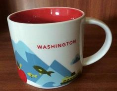 Washington | YOU ARE HERE SERIES | Starbucks City Mugs