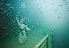 """""""The Vandenberg, Life Below the Surface"""". An underwater photography project of the Austrian photographer Andreas Franke"""