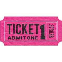 Ticket ❤ liked on Polyvore featuring fillers, pink fillers, words, random, tickets, doodle and scribble