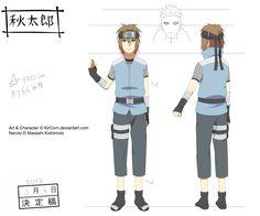 :Naruto OC: Akitarou's Settei by KirCorn