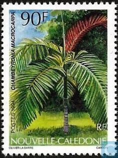 Postage Stamps - New Caledonia - Flora