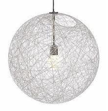 zelf een lampenkap maken met een ballon, lijm en draad