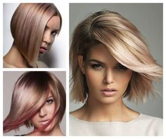 Hair Color Inspiration and Formulation: Rosy Glow
