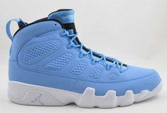 competitive price 4c974 e3c81 Young Air Jordan IX Boys Shoe Pantone White Power Blue Air Jordan 9, Air  Jordan