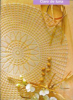 beautiful doily and pattern chart