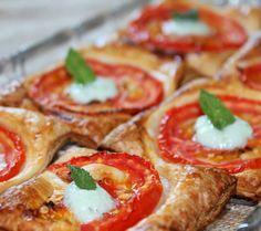 Hojaldres de tomate