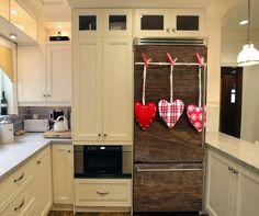 Αυτοκόλλητα ψυγείου - Καρδιές