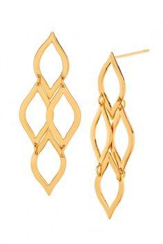 Gorjana Jewelry 2015 'Roya Drop' Earrings | The Orchid Boutique