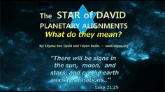 Star of David Sky Signs by Tsiyon Radio - a new video discussing prophetic time lines of the tetrad, four blood moons, and there meaning from Scripture.