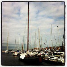 Sailing Boats in Urk, Holland ~ IMG_2215 by neginn, via Flickr