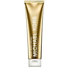 Michael Kors Silky Body Lotion ($48) ❤ liked on Polyvore featuring beauty products, bath & body products, body moisturizers, fillers, body moisturizer, michael kors and body moisturiser