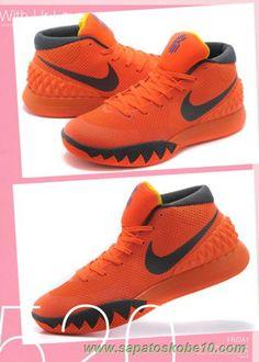 newest 4d5a7 8a9da tenis de basket 705277-676 Bordô Vermelho Amarelo Nike Kyrie 1 Masculino  Amarelo,