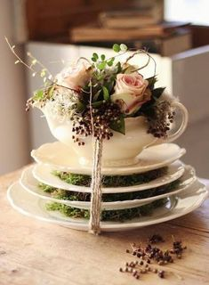 mothers day gift idea - teacup vase