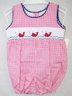 412054 A041- Baby Girl Bubble - Baby Girl Clothes - Baby Bubble - Smocked Baby Bubbles - Baby Bubble Suit - Baby Bubble Romper - Twin Babies