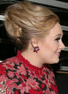 adele tattoo- her son's initial...love!