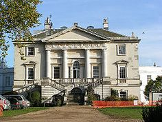 White Lodge.in Richmond Park, London was built as a hunting lodge for George II, now The Royal Ballet School