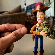 Creepy woody weed