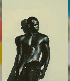 Gabriel Otieno Kenya Model Currently for 20 Model Management,Cape Town
