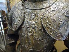 embossed armor