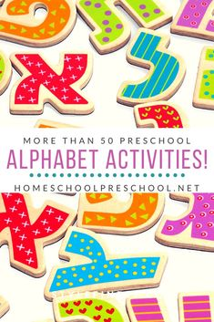 Each one of these preschool alphabet activities featured will help teach, reinforce, or review the letters of the alphabet. Many focus on beginning sounds, as well. #alphabetactivities #alphabetactivitiespreschool #preschoolalphabetactivities #homeschoolprek Alphabet Activities, Hands On Activities, Preschool Alphabet, Preschool Activities, Teaching The Alphabet, Alphabet For Kids, Learning Letters, Early Learning, Kids Learning
