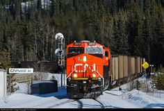 RailPictures.Net Photo: CN 2876 Canadian National Railway GE ES44AC at Robb, Alberta, Canada by Tim Stevens