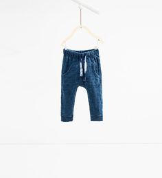 Drawstring trousers-TROUSERS-BABY BOY | 3 months - 4 years-KIDS | ZARA Hungary