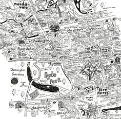 Beautiful Hand-Drawn Map Of Westminster | Londonist