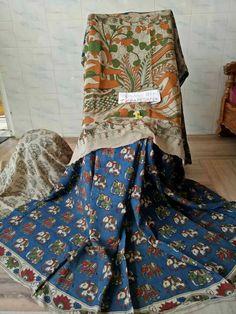 Kalamkari silk sarees 000