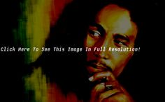 Bob Marley Portrait Painting Wallpaper HD