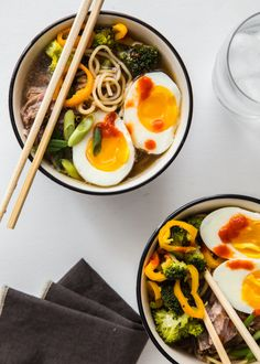 Slow Cooker Pork Ramen: http://www.stylemepretty.com/living/2015/04/23/18-spring-slow-cooker-recipes-you-need-right-now/