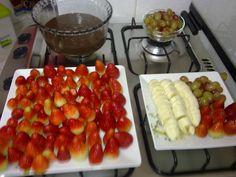Simples, porém uma delícia! Eu que fiz!  #brigadeirocomfrutas
