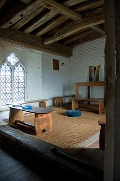 """Holy Trinity Church, Blythburgh."" This is like my little agnostic chapel that I had in mind for the grounds of my home."