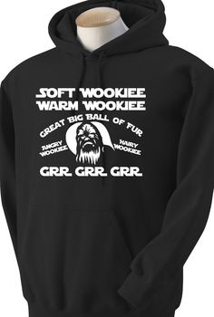 Soft Wookiee Prayer Hoodie. Big Bang Theory would be by JedaTees, $29.95