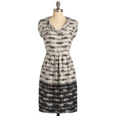Opposites Abstract Dress - 12