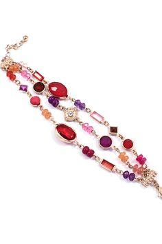 Beverly Bracelet in Ruby on Emma Stine Limited