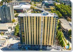 Общежитие Канадского университета Британской Колумбии под названием Brock Commons стало самым высоким деревянным зданием в мире. Здание имеет 18 этажей и достигает высоты 53 м. У здания есть бетонное основание ...