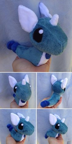 Dragonair Palm Plush by Glacideas on DeviantArt