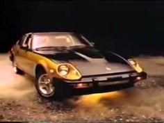 Datsun 280ZX TV Ad 10th Anniversary Black Gold Funny - 2013
