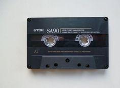 1 TDK SA cassette 90 / Audiokassette / Leerkassette / audio cassette