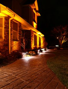 Outdoor lighting ideas for patios Trees Heres Closer Look At The Many Advantages Of An Led Landscape Lighting System Over The Use Of Traditional Light Bulbs Archadeck Outdoor Living Pinterest 118 Best Outdoor Lighting Ideas For Decks Porches Patios And