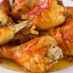 Chicken Drumsticks, Portuguese Recipes, Meat Recipes, Food Inspiration, Pork, Food And Drink, Menu, Yummy Food, Cooking