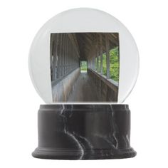 Frankenmuth Bridge Walkway Snow Globe - photography gifts diy custom unique special