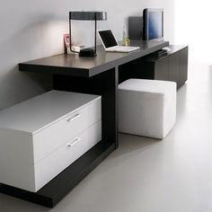 Un bureau-console pour le salon par Clever.it