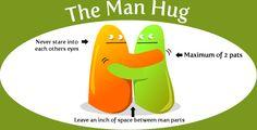 6/6 types of crappy hugs